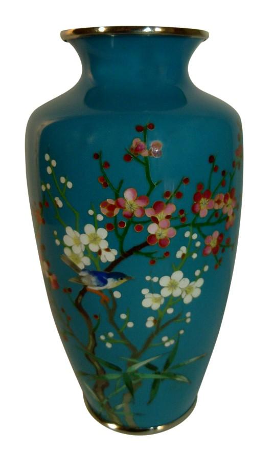 01 7 ваза в технике перегородчатой